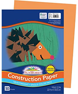 Childcraft Construction Paper 500 Sheets Pacon Corp 1465885 9 x 12 Inches Yellow