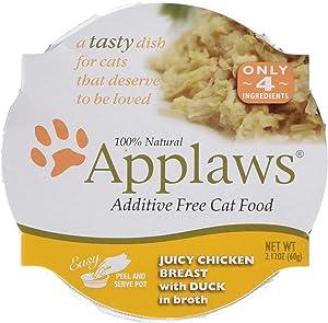 Applaws Chicken Breast/Duck Wet Cat Food 18pk
