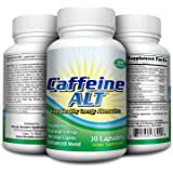 Quit Caffeine Alternative Aid - Caffeine Replacement - 30 Capsules - Natural Energy Supplement / Caffeine-Free Energy