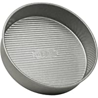 USA PAN 1070LC Bakeware Round Cake Pan, 9 inch, Nonstick & Quick Release Coating, Made in the USA from Aluminized Steel