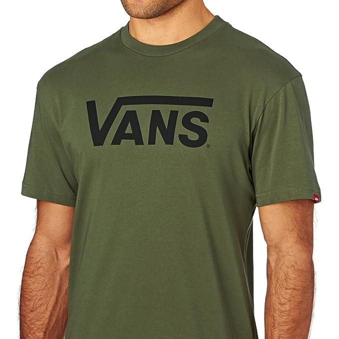 Camiseta Vans Classic Military-Negro (L  2b8aae5ab51