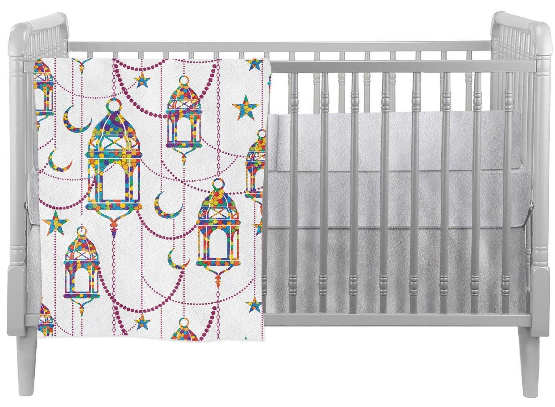 Moroccan Lanterns Crib Comforter / Quilt (Personalized)