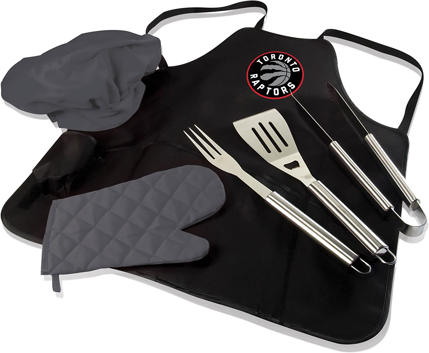 PICNIC TIME NBA Unisex BBQ Apron Tote Pro with Tools