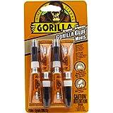 Gorilla Glue Original Minis Four Pack, 100% Waterproof, Indoor & Outdoor, Polyurethane Glue, Versatile Bonding Adhesive, Easy