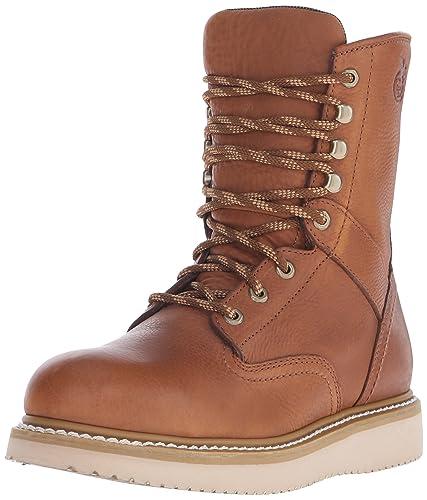 Amazon.com   Georgia Boot Men's 8 Inch Wedge Steel Toe Work Shoe ...