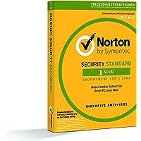 Norton Security Standard 2018   1 Gerät   1 Jahr  PC/Mac/iOS/Android  Download