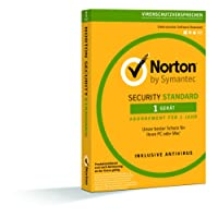 Symantec Norton Security Standard - Sicurezza e Antivirus (1 dispositivo - PC e Mac)