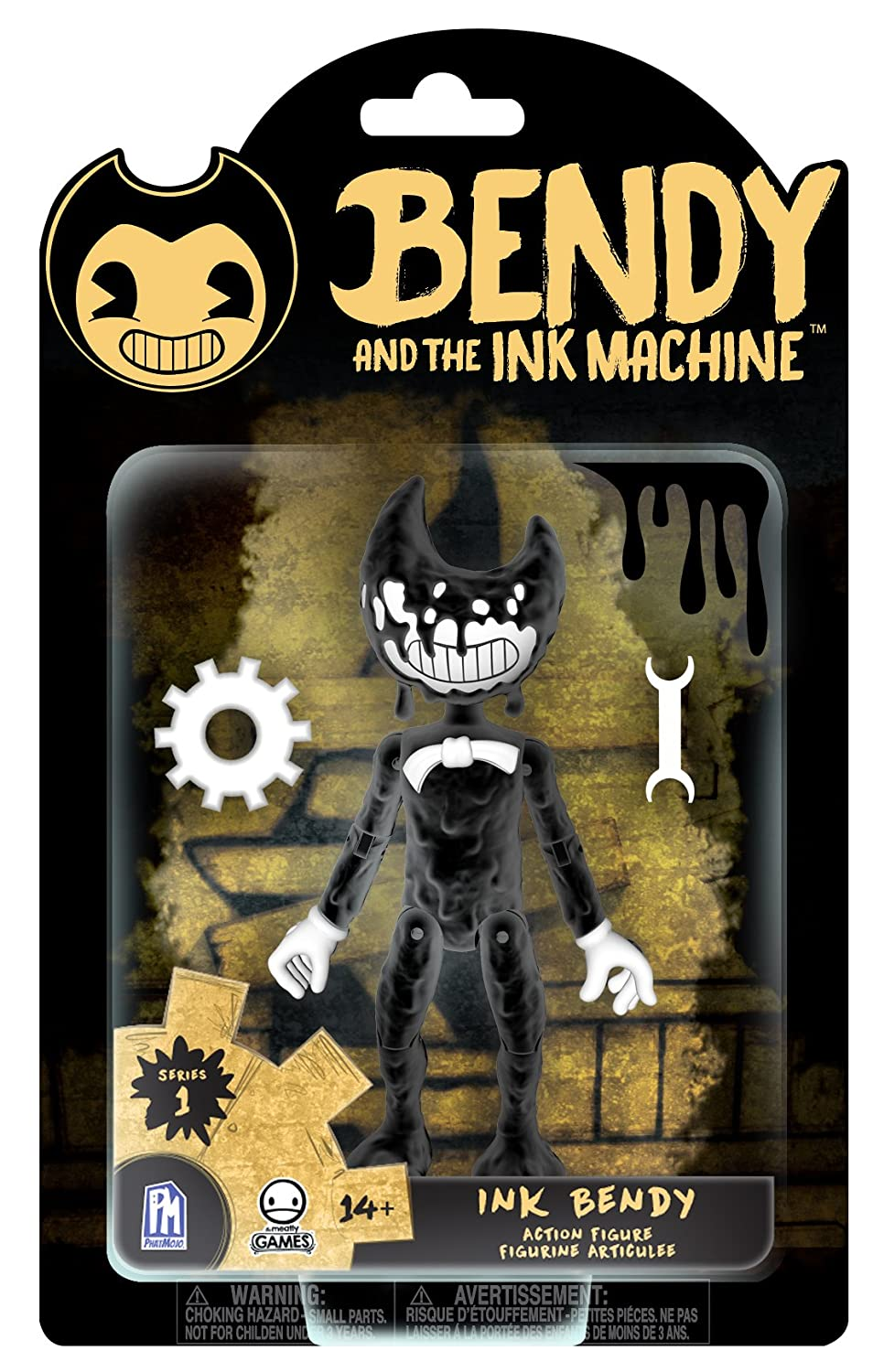 Bendy and the Ink Machine Series Figure Bendy Boris Plush Toys Doll Xmas Gifts K