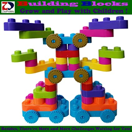 Block C ZP ZaoProteks ZPT32 Building Blocks STEM and Educational Building Toys Grow and Play with Children