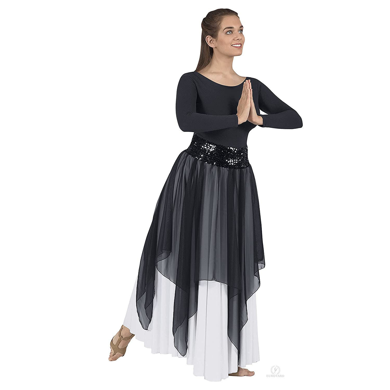 Single Chiffon Handkerchief Skirt/Top