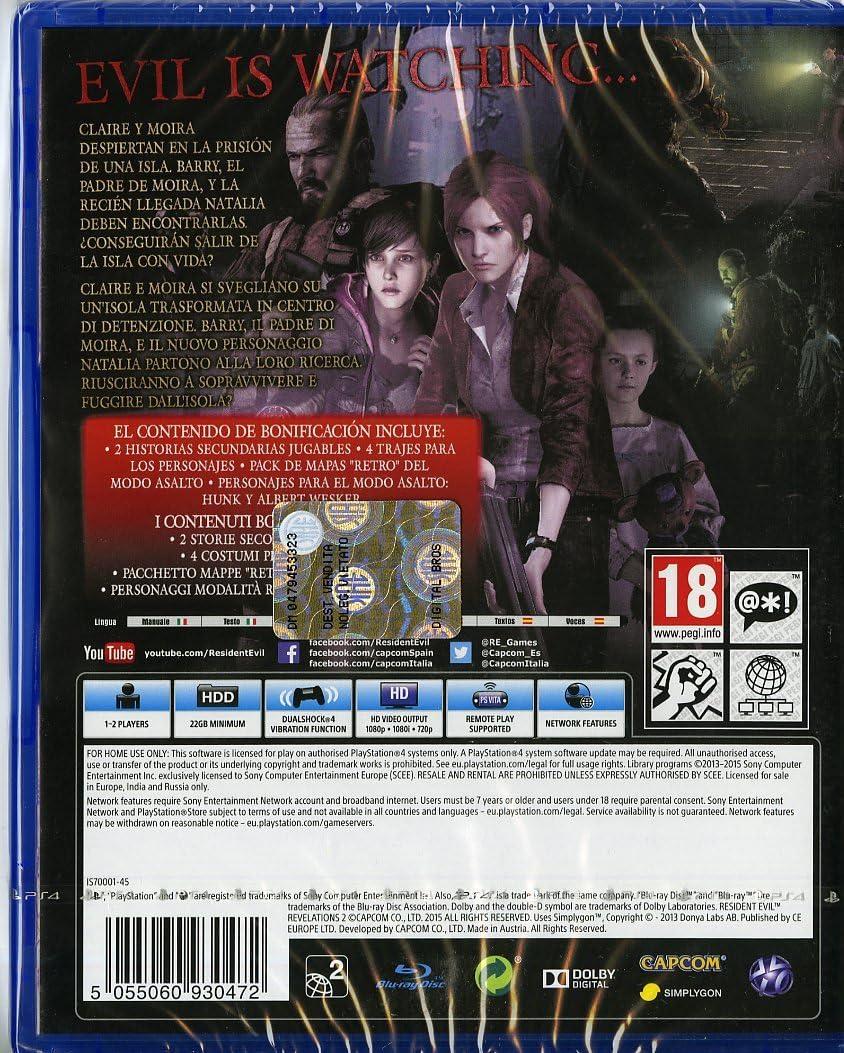 Resident Evil: Revelations 2: Amazon.es: Videojuegos