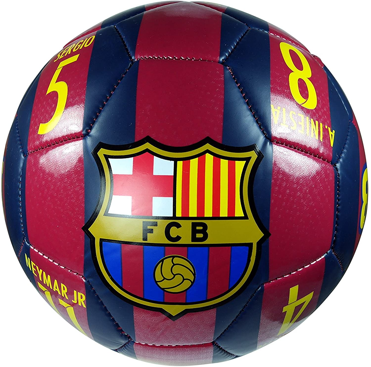 FC Barcelona Authentic Official Licensed Soccer Ball Size 4-06-3