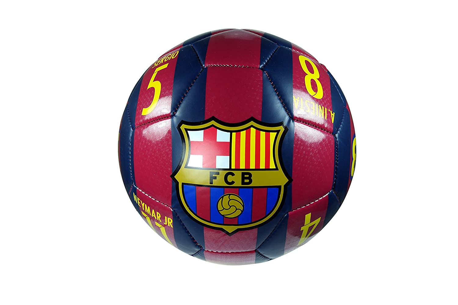 FC Barcelona Authentic Official Licensedサッカーボールサイズ4 – 01 – 5 B0765LQD4Q