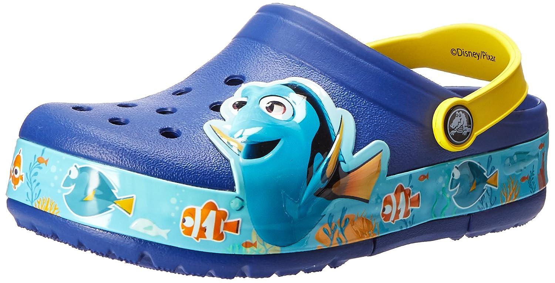 2316d09e6b Crocs Clog Finding Dory Blue Lemon K Light-Up Dory Clog (Toddler Little  Kid) Cerulean Blue Lemon 61bf864