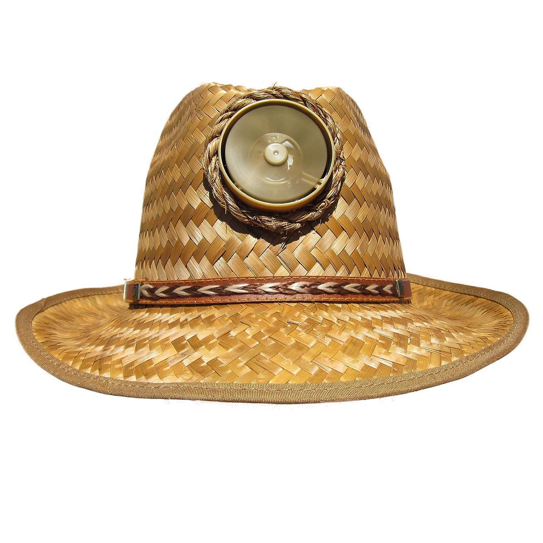 8708b1023 Kool Breeze Solar Cooling Hat - Fedora Solar Hat