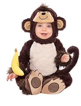 Niños Disfraz - Mono - Tamaño 74 cm (6 - 12 meses), Monos URWALD ...