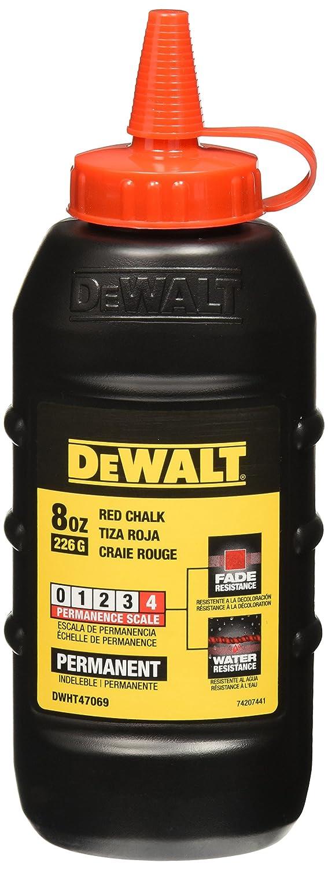 DeWalt DWHT47069L 8Oz Replacement Chalk, Red