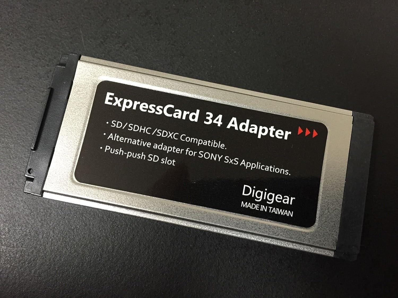 Digigear SD/SDHC/SDXC para adaptador de tarjeta Express/para Sony ...