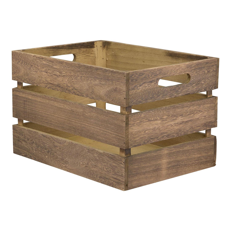 Securit Cr-vin vintage Caisse en bois