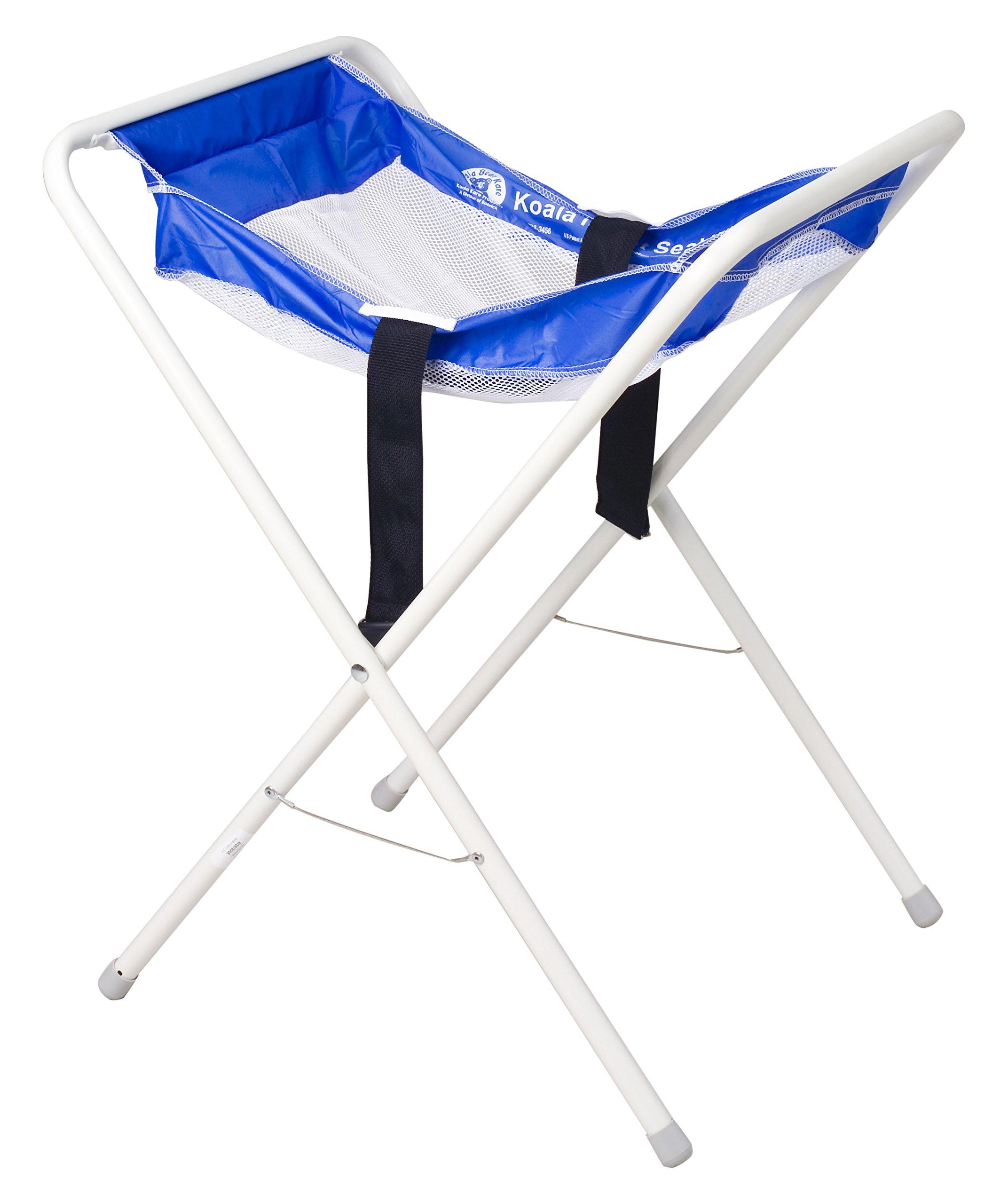 Koala Kare KB115-99 Infant Kradle Seat, 3'' Height, 40'' Width, 22'' Length, Blue/White by Koala Kare