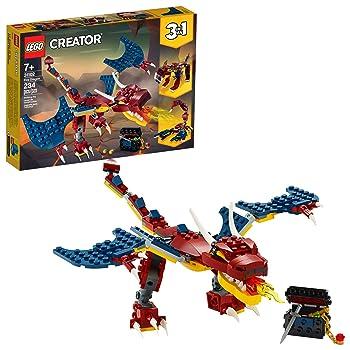LEGO Creator 3in1 Fire Dragon Lego Set For Kids