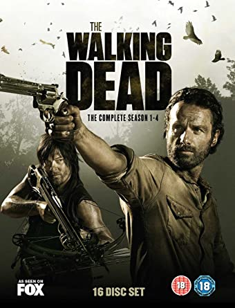 The Walking Dead: The Complete Seasons 1-4 16 DVDs UK Import ...