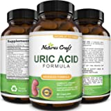 Uric Acid Kidney Support Vitamins for Men and Women – Herbal Cleanse Detox for Joint Comfort Muscle Recovery Pure Tart Cherry Milk Thistle and Bromelain Antioxidant Dietary Supplement