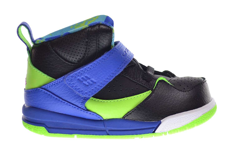 low priced 5dfb2 ada8c spain jordan flight 45 high td baby toddlers basketball shoes black gym  royal 165fb 02f70