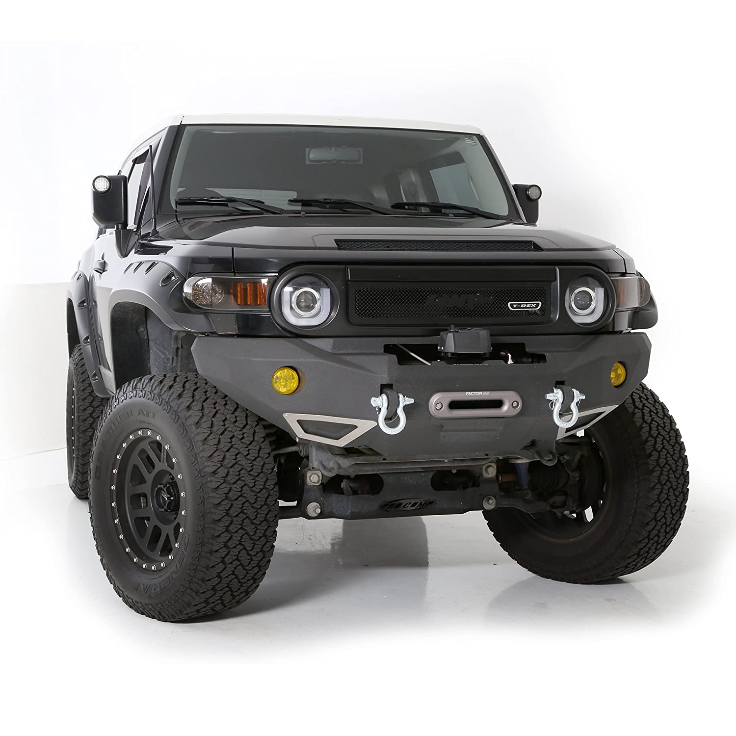 Smittybilt 612850 M1 Front Trunk Bumper For Toyota Fj Cruiser Auxiliary Lights Wiring Diagram Automotive