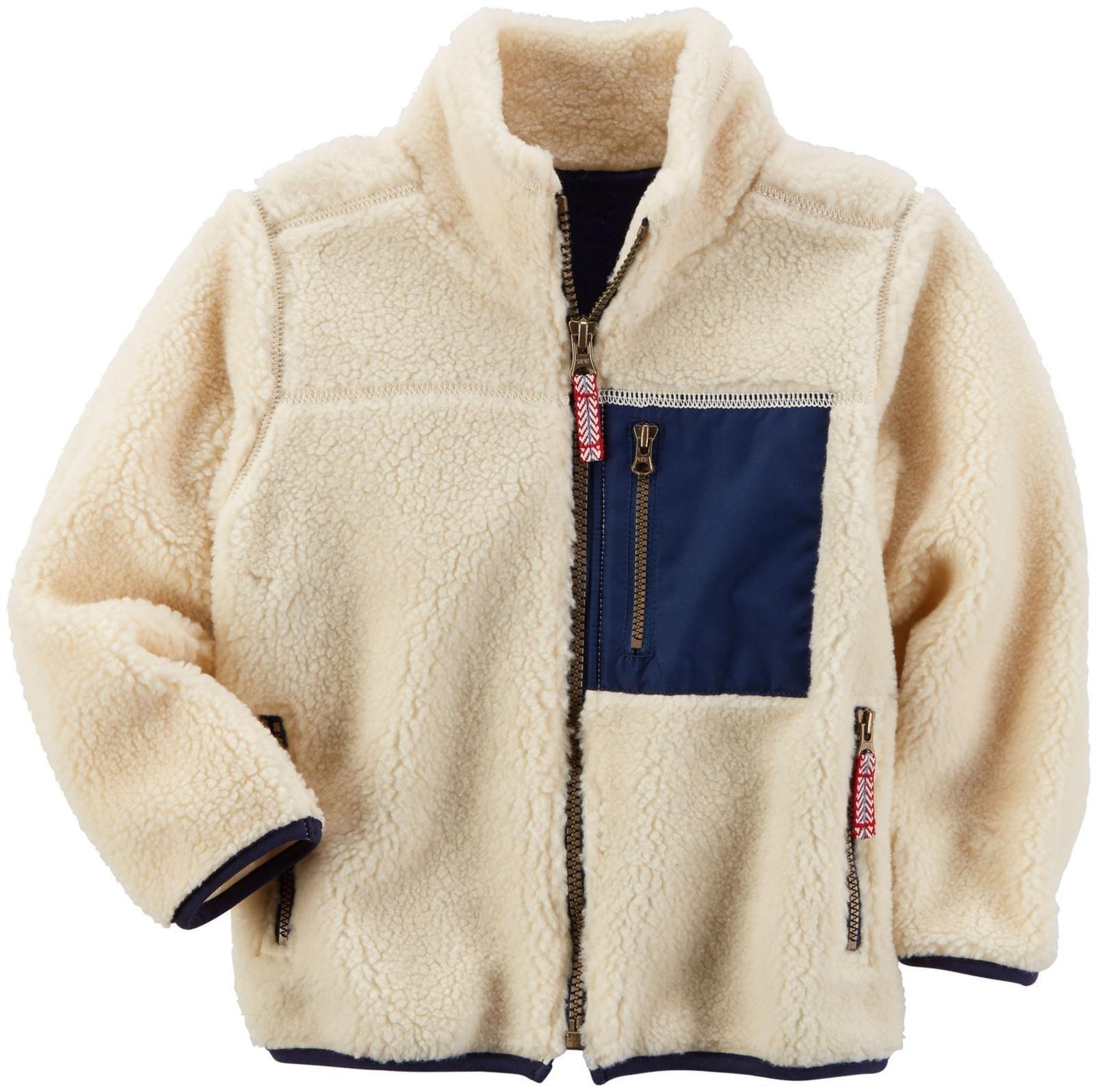 Carter's Boys' Knit Layering 263g577, White, 8