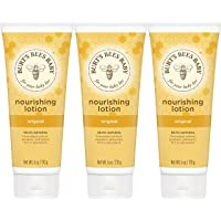 Burt's Bees Baby Nourishing Lotion, Original, 6 Ounces (Pack of 3) (Packaging May...