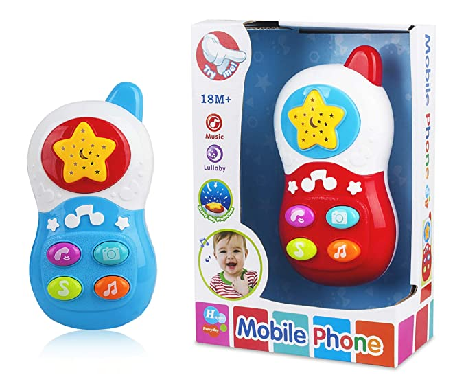Munchkin Land Mobile Phone Musical Toys for Babies