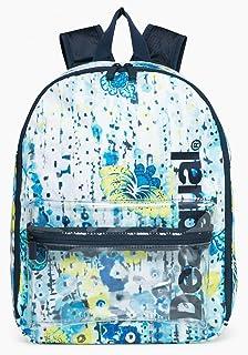 Desigual Tropic Gym Backpack Raspberry Bis dzSyfK2H