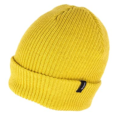 6f5c630acca Image Unavailable. Image not available for. Colour  Brixton Hats Heist  Beanie Hat - Mustard