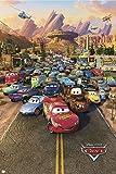 1art1 36585 Poster Cars Une Pièce 91 X 61 cm