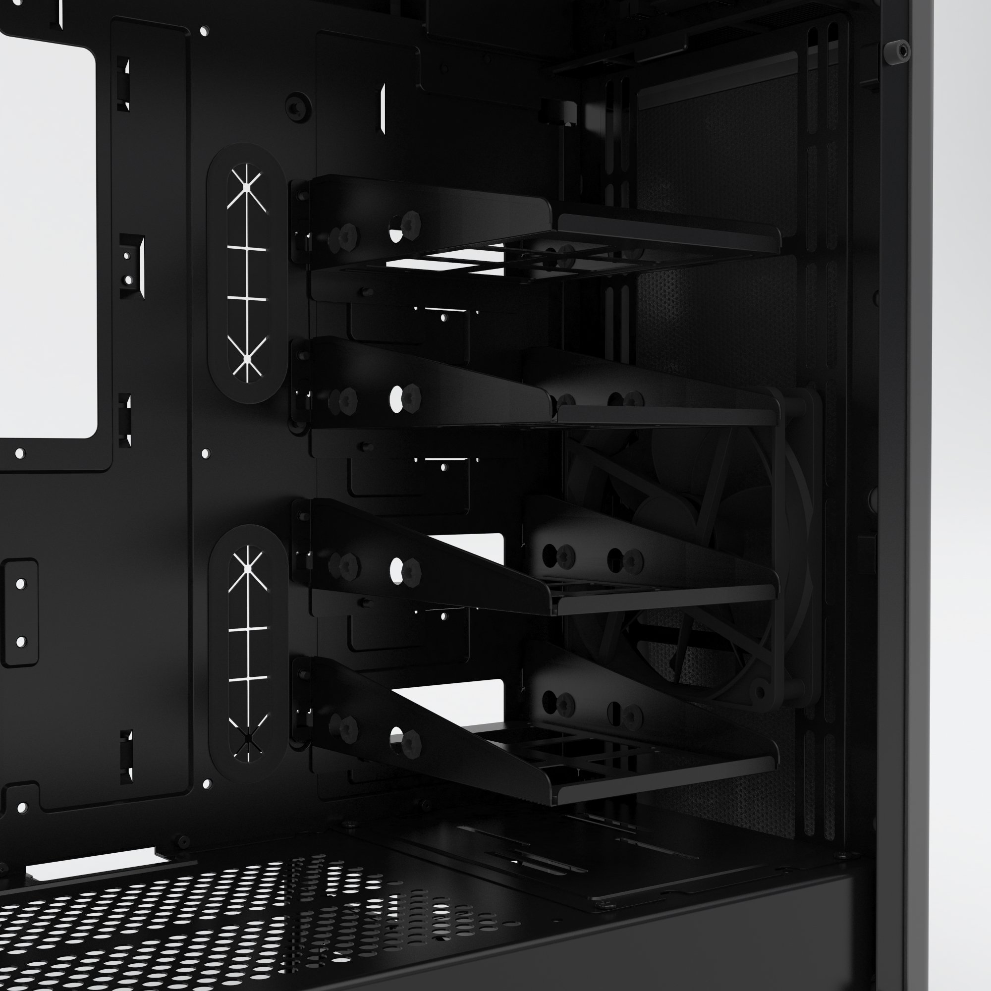 Phanteks PH-EC416PSTG_AG Eclipse P400S Silent Edition with Tempered Glass, Anthracite Grey Cases by Phanteks (Image #12)