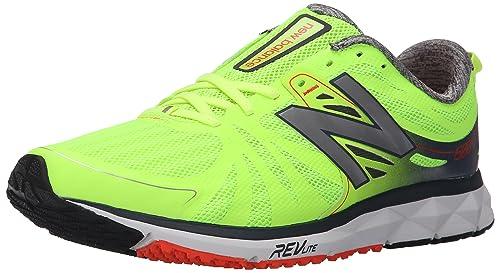 New Balance Men's M1500V2 Running Shoe, Green/Grey, 11.5 2E US