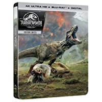 Jurassic World: Fallen Kingdom 4K Ultra HD [4K Ultra HD + Blu-ray + Digital - Édition boîtier SteelBook]