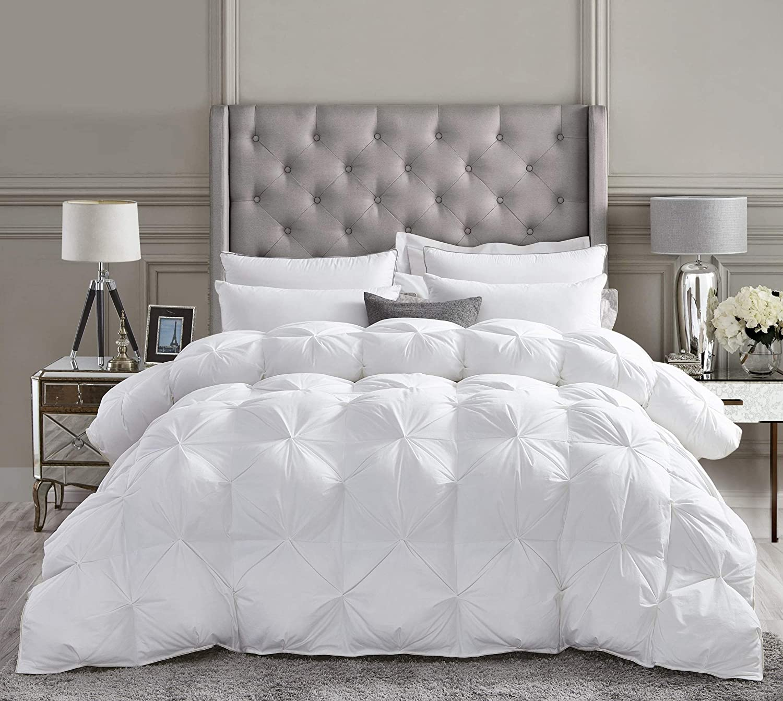 Amazon Com Luxurious All Season Goose Down Comforter Queen Size