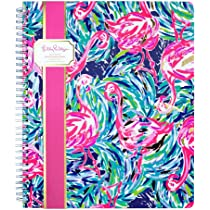 24a4262d25cef7 Lilly Pulitzer 2019 12-Month Desk Calendar with Easel Stand, 5