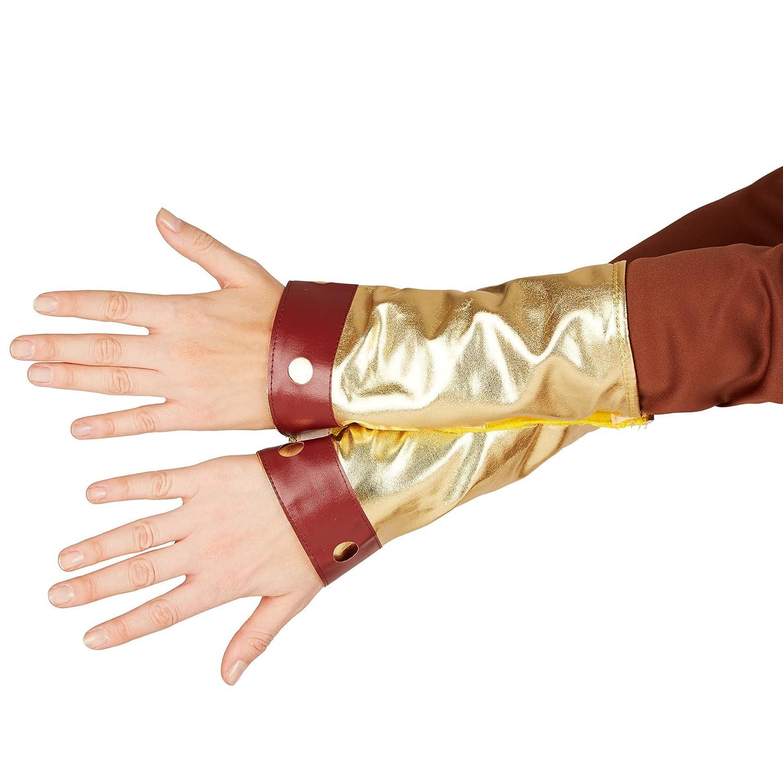 dressforfun Disfraz para mujer Vikinga | Precioso vestido con capa | incl. Cinturón + gorro de vikingo y Botas y mitones (S | no.