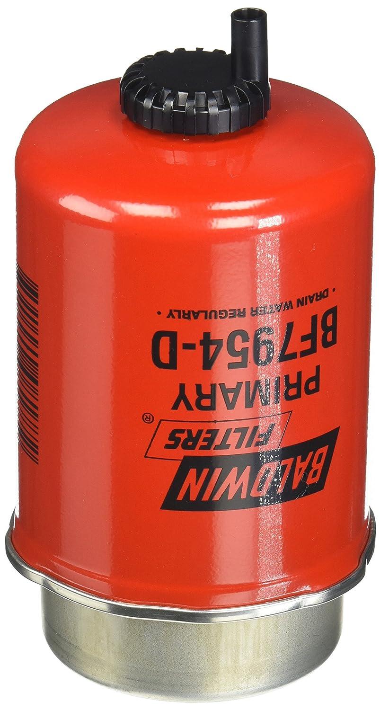 Baldwin Heavy Duty BF7954-D Fuel Filter, 5-3/4 x 3-1/2 x 5-3/4 In