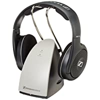 Deals on Sennheiser RS120 On-Ear Wireless RF Headphones w/Charging Cradle