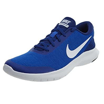 14a863125bde Nike Men s Flex Experience RN 7 Royal Blue White Running Shoes ...