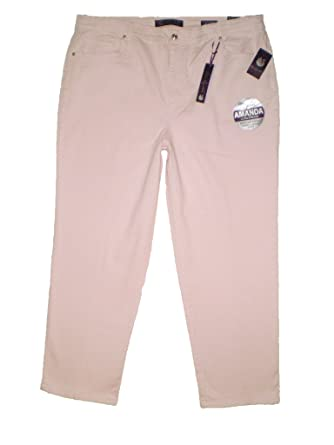 6efecded6c8 Gloria Vanderbilt Amanda Heritage Fit Cherry Blossom Jean Women s Plus Size  New ...