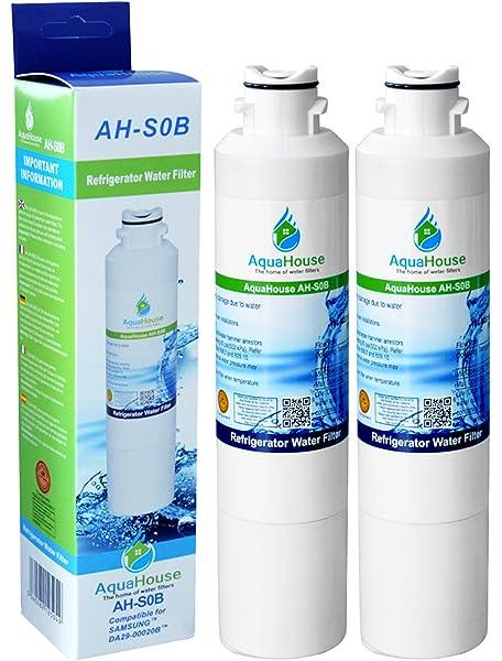 AquaHouse AH-S0B filtro de agua compatibles para Samsung nevera ...