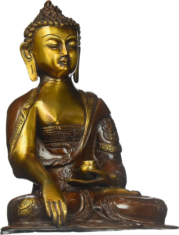 Baltimore Mall Buddha in Many popular brands The Bhumisparsha Mudra - Statue Brass