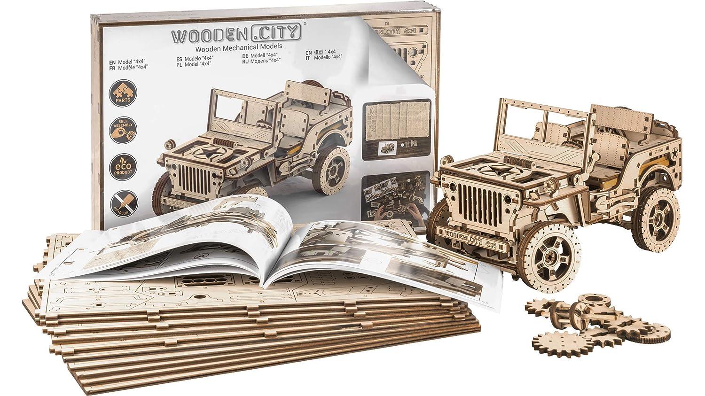 Puzzles 3D Puzzle en bois City JEEP 4X4