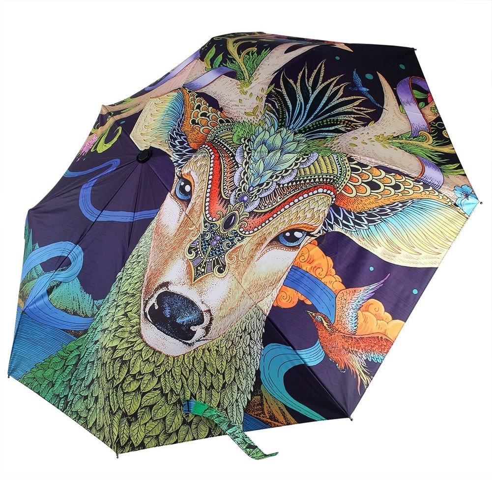 979fa4de1b4a REALBRELLA Fashion ART Designer Umbrella, Compact Waterproof ...