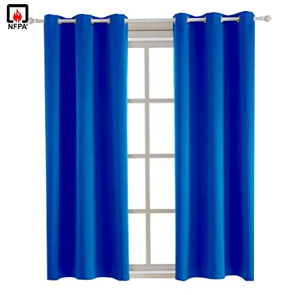 95ded893292c Amazon.com  BEGOODTEX Flame Retardant Curtains Fire Resistant ...